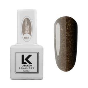 Gel-Polish-Black-Coffee-Glitter-Lisa-Kon-1