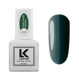 Gel-Polish-Iron-Oxide-Green-Lisa-Kon