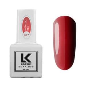 Gel-Polish-Metallic-Red-Lisa-Kon