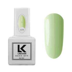 Gel-Polish-Mint-Green-Lisa-Kon