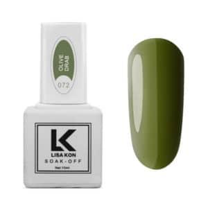Gel-Polish-Olive-Drab-Lisa-Kon