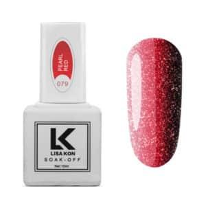 Gel-Polish-Pearl-Red-Lisa-Kon