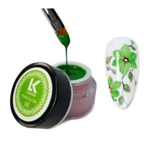green-painting-gel-lisa-kon