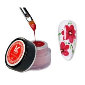 red-painting-gel-lisa-kon