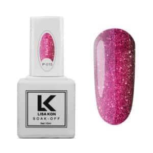 Gel-Polish-Platinum-P-015-Pink-Star-Lisa-Kon