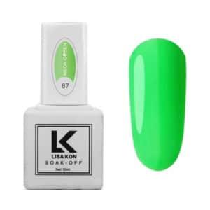 Neon Green Nail Varnish